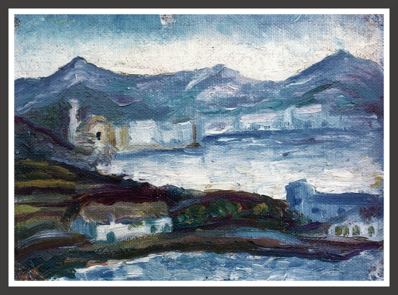 Oil on canvas, 27 x 19 cm Private collection