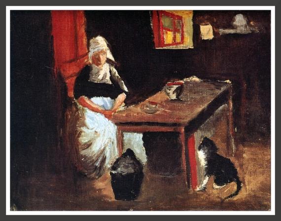 Dutch interior (1914)