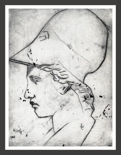 Head of Athene (1914)