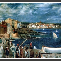 0069-The Llané beach in Cadaqués (1921)