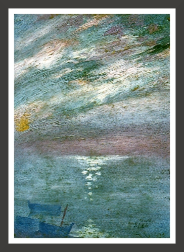 Oil on canvas, 27,4 x 38,4 cm Private collection