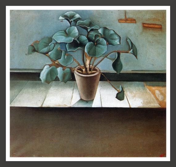 Oil on canvas, 98,5 x 98,5 cm Fundacion Gala-Salvador Dali, Figueras