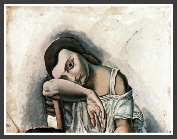 Oil on cardboard, 75 x 55 cm Fundacion Gala-Salvador Dali, Figueras