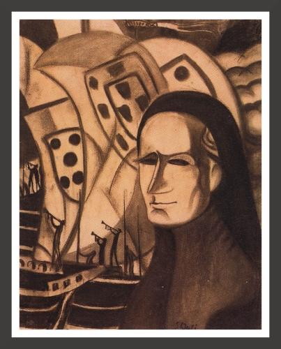 Charcoal, 46,9 x 59,6 cm The Salvador Dali Museum, St Petersburg (Florida)