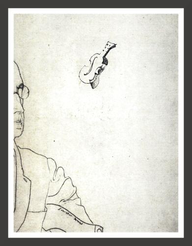 Pencil on paper, 28 x 30 cm The Salvador Dali Museum, st Petersburg (Florida)