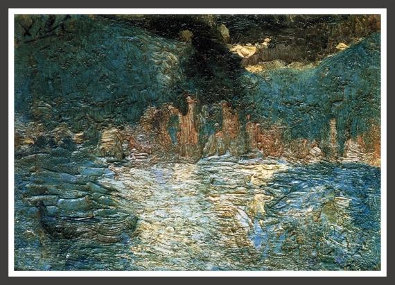 Oil on canvas, 28 x 21 cm Rafael Santos Torroella collection, Barcelona