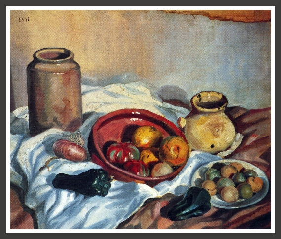 Oil on canvas, 70 x 60 cm Museo Nacional Reina Sofia, Madrid