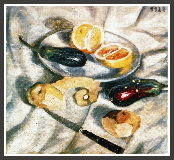 Oil on canvas, 33,2 x 31 cm Kunstmuseum Bern, Bern (Switzerland)