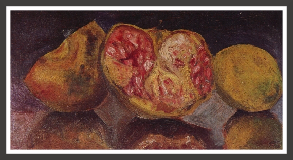 Oil on panel, 26 x 14,5 cm Private collection