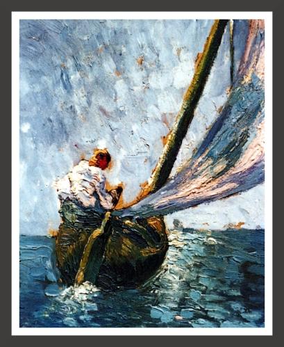 Oil on cardboard, 19 x 24 cm Fundacion Gala-Salvador Dali, Figueras