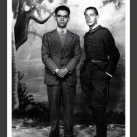 0243-Salvador Dali with Federico Garcia Lorca (1928)
