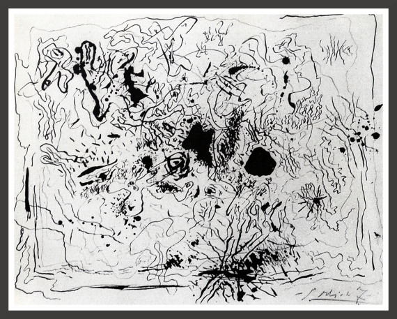 Indian ink on paper, 32,6 x 25,1 cm Museum of Modern Art, New-York