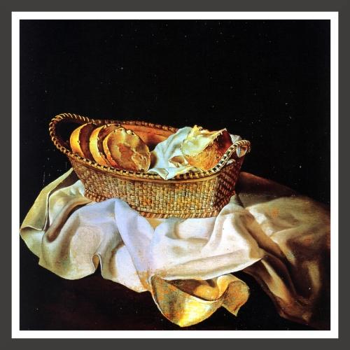 Oil on panel, 31,5 x 31,5 cm The Salvador Dali Museum, St Petersburg (Florida)