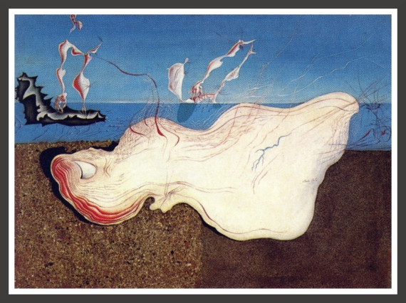 Oil, sand and gravels on panel, 71,7 x 52 cm The Salvador Dali Museum, St Petersburg (Florida)
