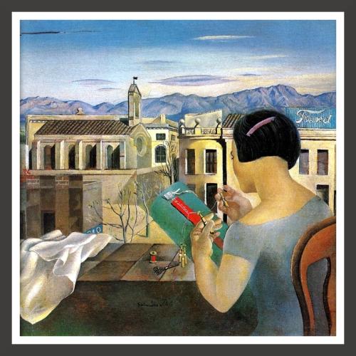 Oil on canvas, 25 x 24 cm Juan Casanelles collection, Barcelona