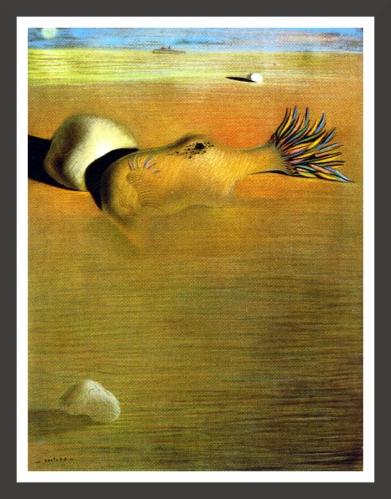 Pastel on paper, 48,9 x 64,8 cm The Salvador Dali Museum, St Petersburg (Florida)