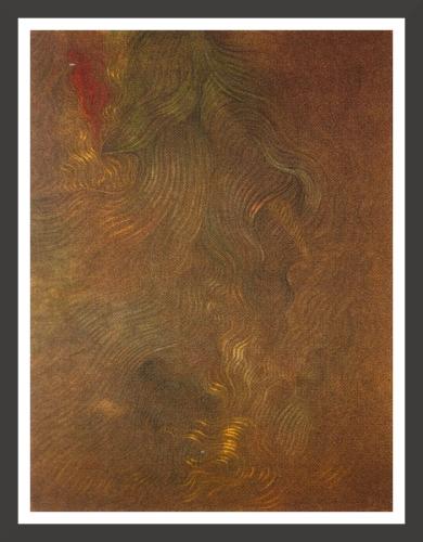 Pastel on paper, 48 x 62 cm Gianna Sistu collection, Paris