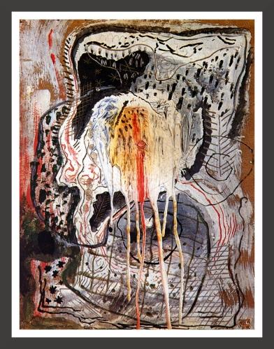 Oil on cardboard, 52,5 x 68,5 cm Fundacion Gala-Salvador Dali, Figueras