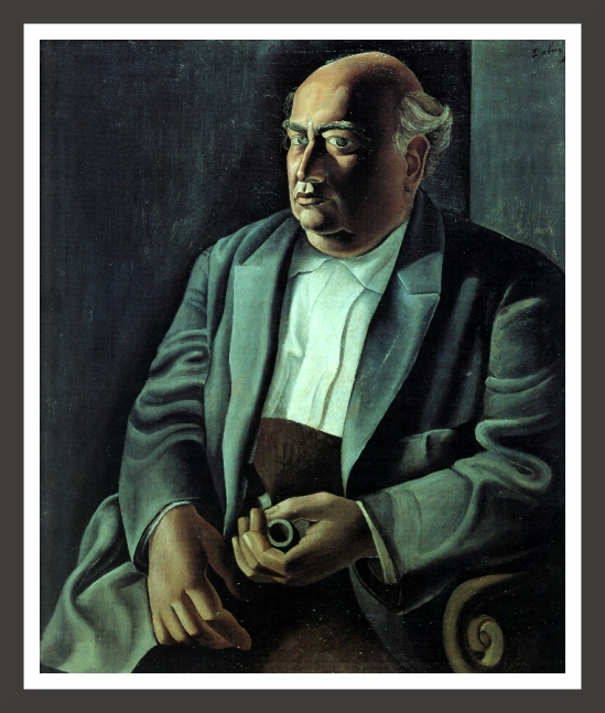 0166-Portrait of the artist's father (1925)