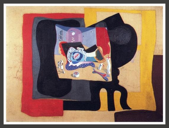 Oil on canvas, 198 x 148 cm Fundacion Gala-Salvador Dali, Figueras