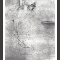 0199-Study for Girl sewing (1926)