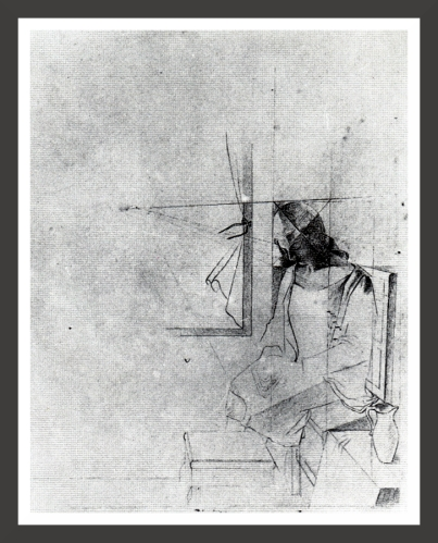Pencil on paper, dimensions unknown Private collection
