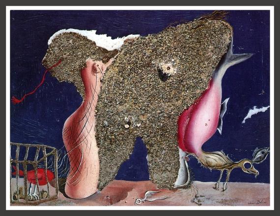Oil and gravels on panel, 65,5 x 50,2 cm Fundacion Gala-Salvador Dali, Madrid