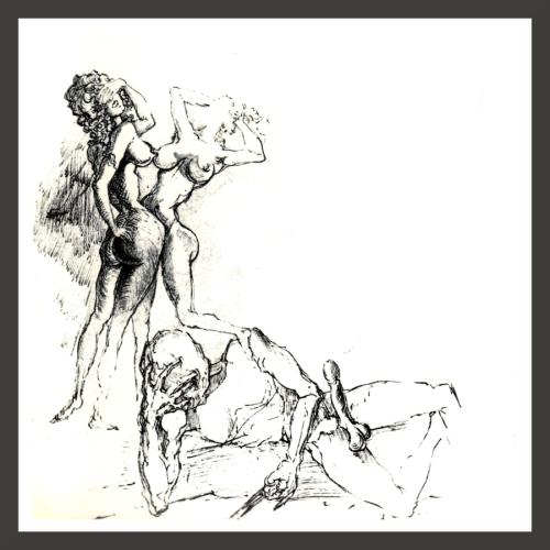 Fuck Dirty erotic drawing